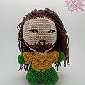 #crochet : #amigurumi, #aquaman
