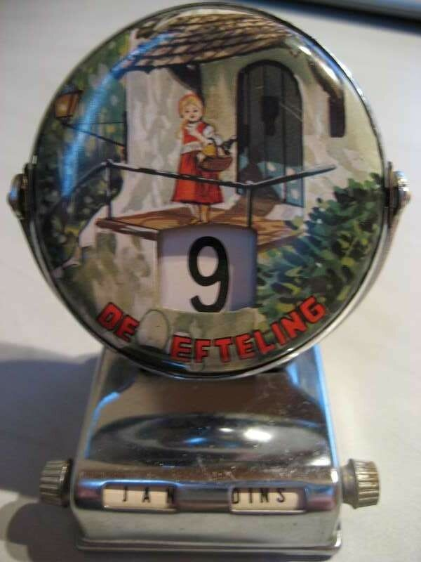 Efteling oud kalender (metaal)