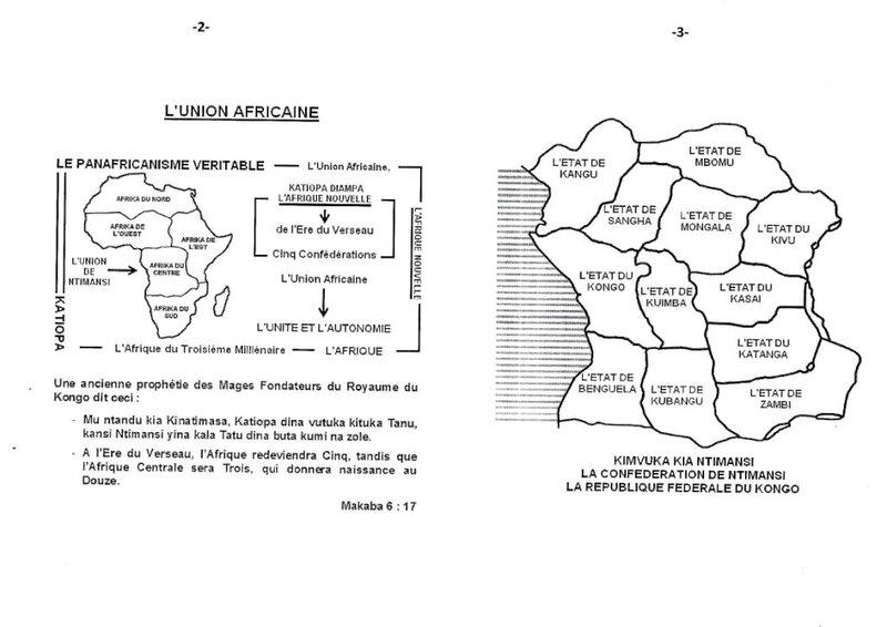 UNE DELEGATION DE TRENTE MORTS SORTIS DU CIMETIERE DE KITAMBO AU PALAIS ROYAL DE NE MUANDA NSEMI b