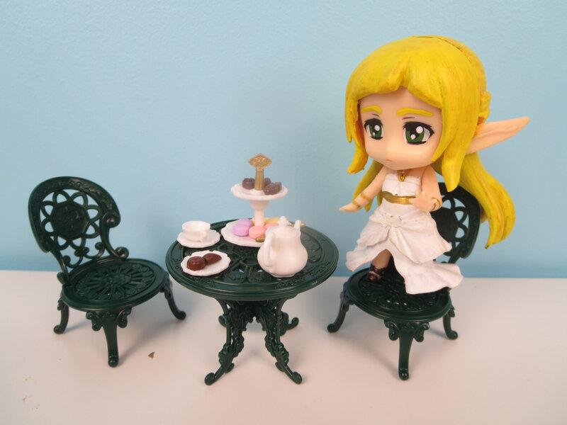 Le set de thé