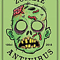 page 6 / zombie birthday printables bottle labels