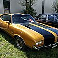 Oldsmobile 442 holiday hardtop coupe, 1971