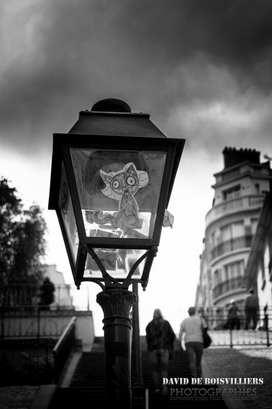 Streetart - Paris - Montmartre