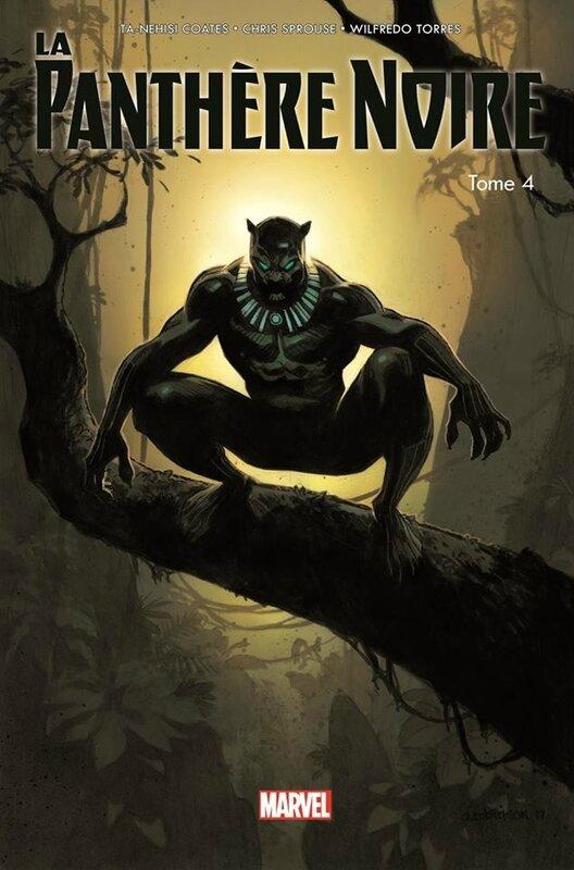 100% marvel panthère noire 04 vengeurs du nouveau monde