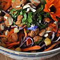 Salade d'inspiration vietnamienne