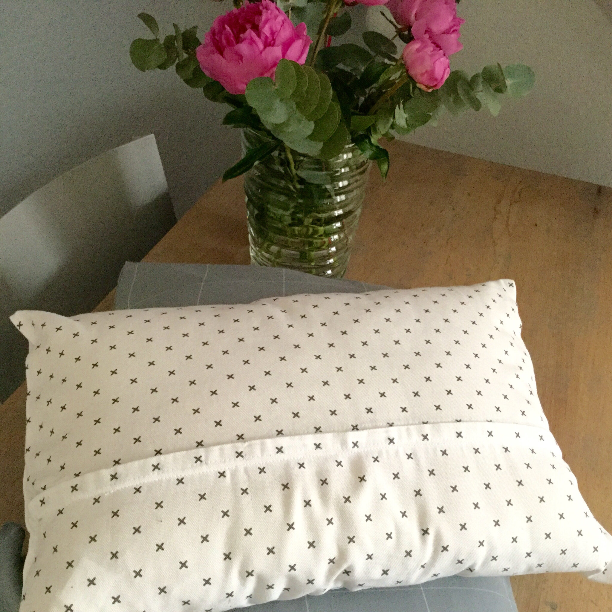 DIY, le coussin déhoussable aux finitions impeccables en 15