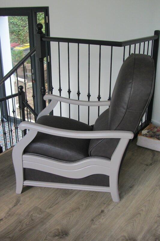 restaurer un fauteuil mécanique à Bohars , atelier Côté Sièges