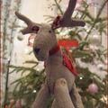 Un petit renne pour notre hôtesse