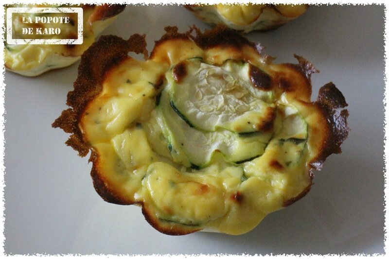 flan courgette ricotta