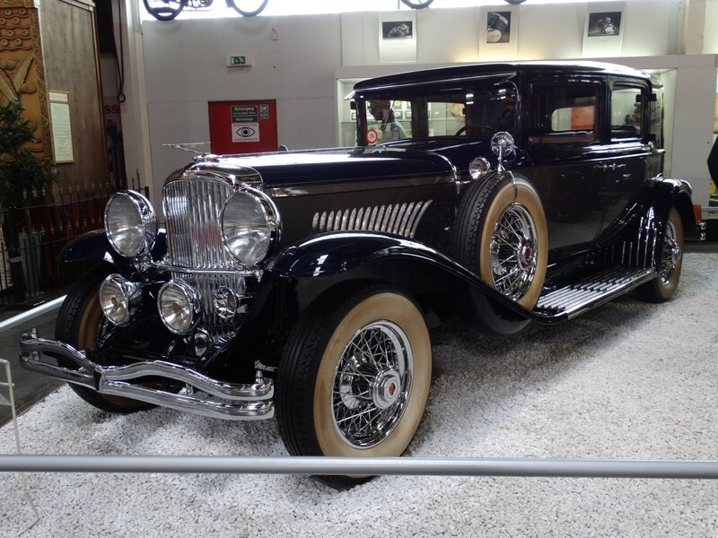 DUESENBERG Model J 4door Sedan 1934 Sinsheim (1)