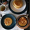 Pancakes au sirop d'erable