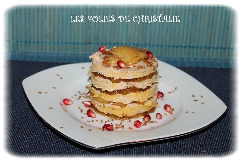 Millefeuille ananas foie gras 7