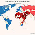Gay Rights Across the World, July 2019