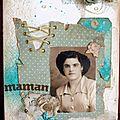 Canvas inspiration mixed-media par elisabeth, scrapdrine et zaza (07/12)