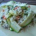 Petit risotto aux légumes d'été