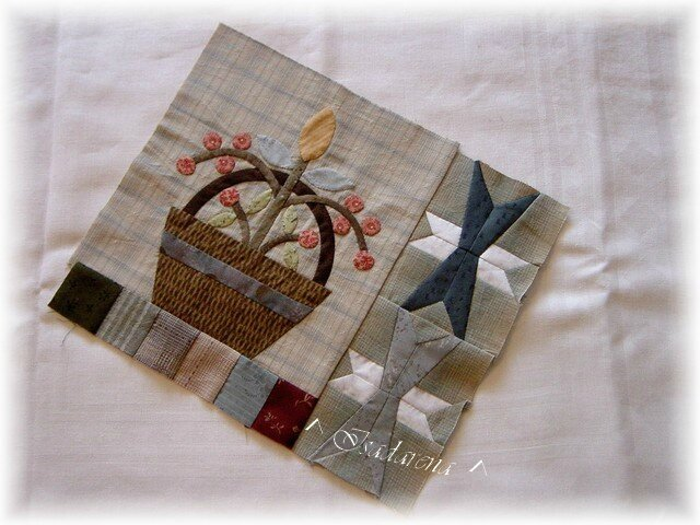 Flower quilt-Isa-block1-blog