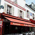 Paris, place du Tertre, la mère Catherine (75)