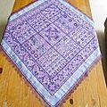 Rhapsody in purple avec sa dentelle