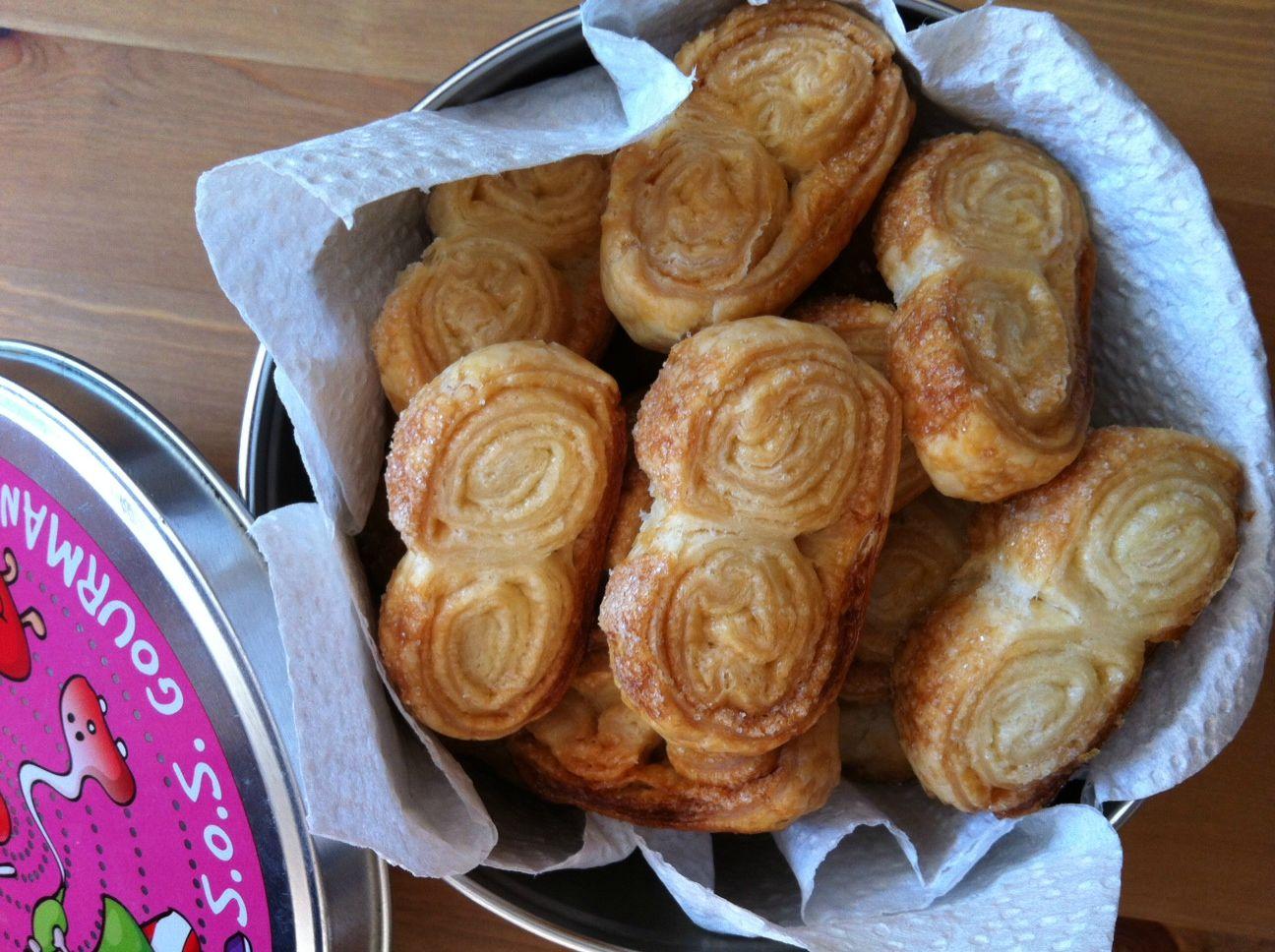 Biscuits-Palmiers de ma Lili